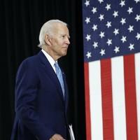 Joe Biden accuses 'white flag' Trump of leaving the battlefield