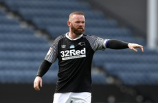 Rooney hits brilliant free-kick in Derby win and West Brom close in on Leeds at the top