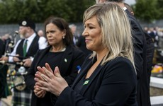 Mary Lou McDonald says Michelle O'Neill does not need to stand aside over attendance at Bobby Storey funeral