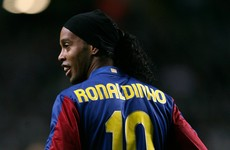 I played with Ronaldinho, Smertin, Chamakh, De la Pena, Batistuta and Hadji. Who am I?