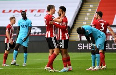 Big win for Sheffield United as Tottenham's Champions League hopes fade