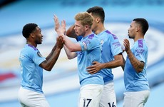 Ruthless Man City spoil Liverpool's title party