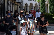 Texas governor issues order requiring face coverings in public spaces