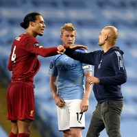 Guardiola 'delighted' after Man City thrash champions Liverpool on sobering night