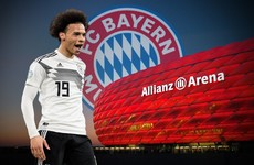 Bayern Munich confirm Sane signing from Man City