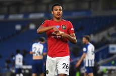 'The sky's the limit for Mason. He's way ahead of what I was at that age' - Solskjaer
