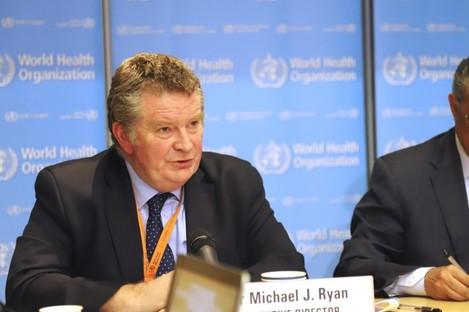 Dr Michael Ryan of the World Health Organization