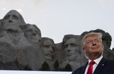 'We will not be terrorised': Donald Trump attacks protesters and 'cancel culture' at Mount Rushmore