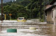 Two dead after flooding hits southern Japan