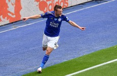 Vardy joins exclusive club to boost Leicester City's Champions League bid