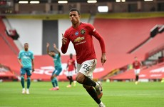 Greenwood shines as five-star United pile the misery on Bournemouth