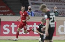 Lewandowski passes 50-goal mark as Bayern Munich win 20th German Cup to complete double