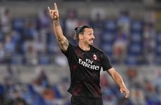 Ibrahimovic-inspired AC Milan hamper Lazio's title bid, as Valencia's late season disappointment continues