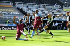 Jonjo Shelvey strikes as Newcastle twice battle back to draw with West Ham