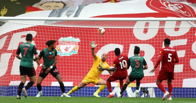 Liverpool keep chasing Premier League points record with scrappy Villa victory