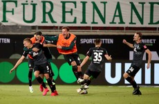 Relieved Bremen stay in Bundesliga on away goals after play-off drama