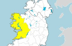 Status yellow rain warnings in effect for three counties - but there'll be rain everywhere