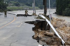 Widespread flooding in southern Japan has led to 50 deaths