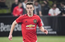 First professional deal at Manchester United for Ireland U19 international Harvey Neville