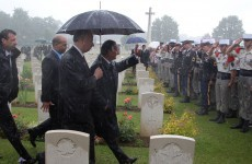 Anger over desecration of 40 German soldiers' graves at WW1 cemetery