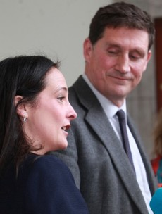 Green Party contest kicks off as Eamon Ryan and Catherine Martin make their pitches to be leader