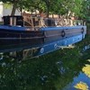 People living in barges on Dublin's Grand Canal could be evicted from their homes this week