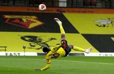 Stunning Danny Welbeck overhead kick inspires Watford to vital win