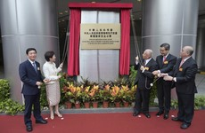 Chinese government opens a new headquarters in Hong Kong for its intelligence agency