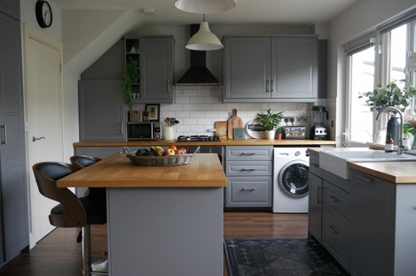 This Dublin kitchen is quite new, but has some layout issues