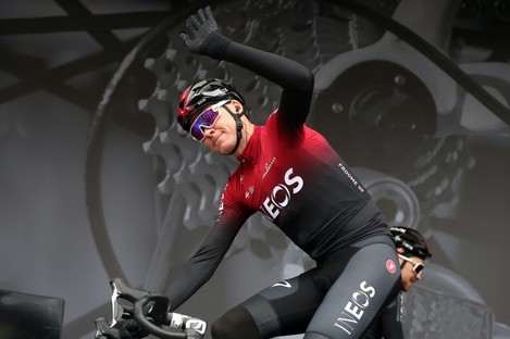 Froome has been strongly linked with a move to the Israel Start-Up Nation.