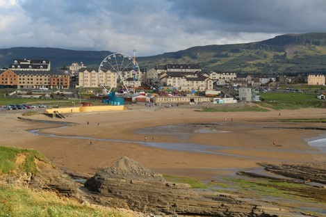 Bundoran in Donegal remains a popular location for visitors from Northern Ireland.