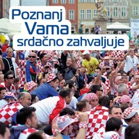 Is Poznan cheating on us? Zagreb got the 'thank you' posters too