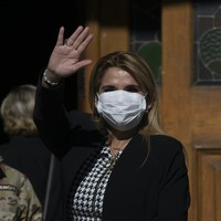 Bolivian President Jeanine Anez has tested positive for coronavirus