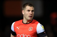 Ireland striker Collins plays his part as Luton Town give themselves a Championship lifeline