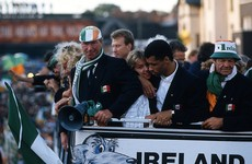 Jack Charlton in 1994: 'Irish people are realistic, as am I. We like one another'