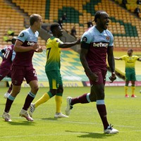Norwich suffer Premier League relegation as West Ham's Antonio grabs four