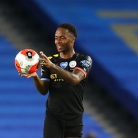 Sterling nets hat-trick as Man City batter Brighton
