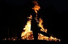 Crowds gather as Twelfth of July bonfires lit amid coronavirus restrictions