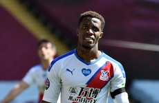 Police arrest 12-year-old boy over racist messages sent to footballer Wilfried Zaha
