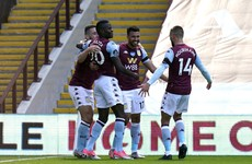 Hourihane grabs assist as Aston Villa gain lifeline in relegation fight