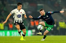 A bye for Shamrock Rovers and league champions Dundalk to face Waterford