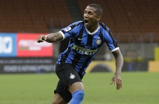 Ashley Young on target in Inter win