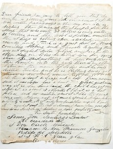 Read: An emigrant's letter home from Argentina... in the 1800s