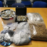 Man (30s) arrested after €73,000 worth of cannabis seized at property in Dublin