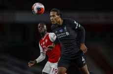 Virgil van Dijk takes blame amid Liverpool loss