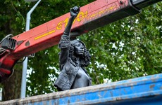 Protester sculpture that replaced Edward Colston statue has been removed