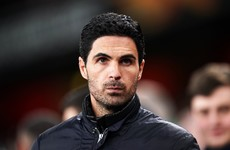 Arteta has 'big concerns' over transfer funds at Arsenal