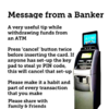 Debunked: No, pressing 'cancel' twice on an ATM won't prevent your PIN from being stolen