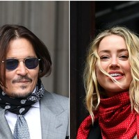 Security guard says he had to retrieve Johnny Depp's mobile phone after Amber Heard threw it off a balcony