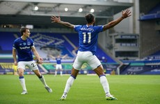 Walcott breaks Villa hearts with 87th-minute equaliser for Everton